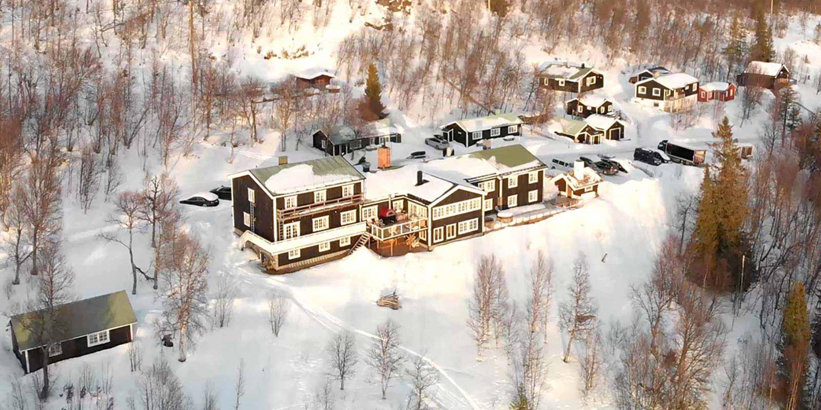 skarvruet hotel tänndalen funäsdalen funäsjällen härjedalen jämtland winter snow nature